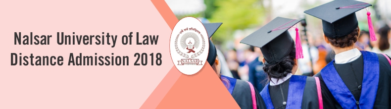 Nalsar University of Law Distance Admission 2018